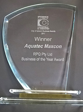 Aquatec Maxcon Group announced as 2017 Business of the Year